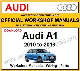 Audi A1 workshop service repair manual download
