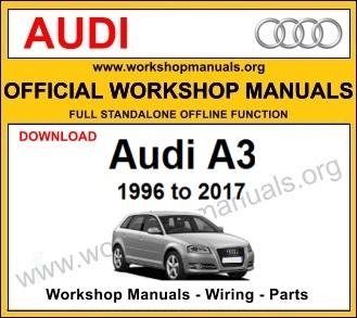 Audi A3 workshop service repair manual download