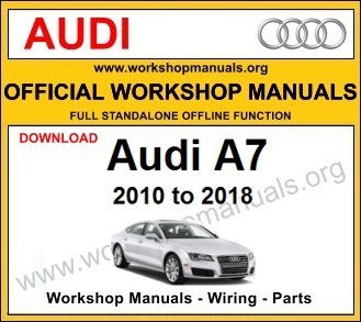Audi A7 workshop service repair manual download