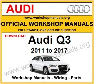 Audi Q3 Workshop Manual - WORKSHOP MANUALS | Audi Q3 Wiring Diagram |  | WORKSHOP MANUALS