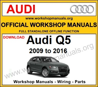 Audi Q5 workshop service repair manual download