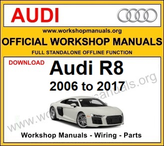 Audi R8 workshop service repair manual download