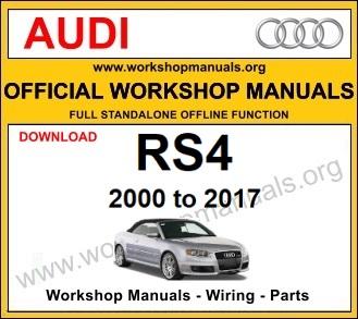 Audi SR4 workshop service repair manual download