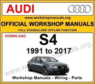 Audi S4 workshop service repair manual download