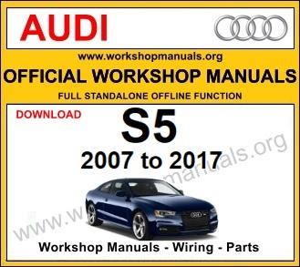 Audi S5 workshop service repair manual