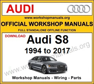 Audi S8 workshop service repair manual download