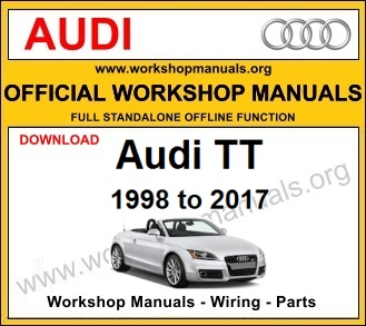 Audi TT workshop service repair manual download