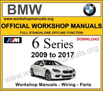 BMW 6 series workshop repair manual download