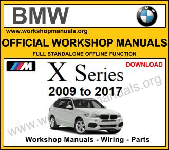 BMW x series workshop repair manual download