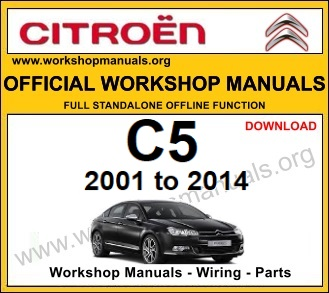 Citroen C5 workshop repair service manual download