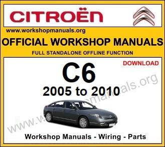 Citroen C6 workshop repair service manual download