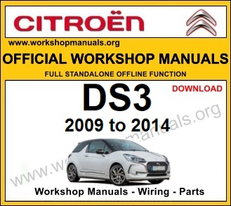 Citroen DS3 Workshop Manual - WORKSHOP MANUALS | Citroen Ds3 Wiring Diagram |  | WORKSHOP MANUALS