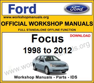 Ford Focus workshop service repair manual download