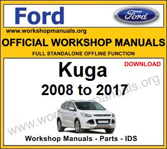Ford Kuga workshop service repair manual download