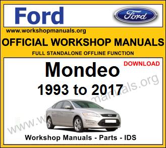Ford Mondeo workshop service repair manual download