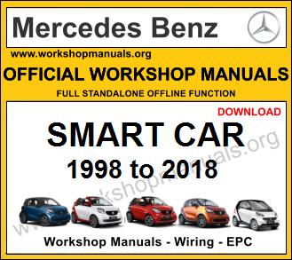 Mercedes smart car workshop repair manual download