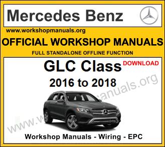 Mercedes glc class workshop service repair manual download