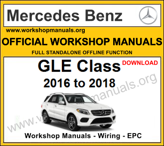 Mercedes gle class workshop service repair manual download