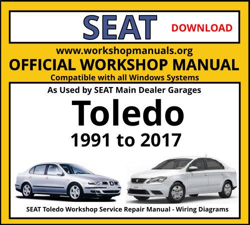 Seat Toledo Workshop Manual Workshop Manuals