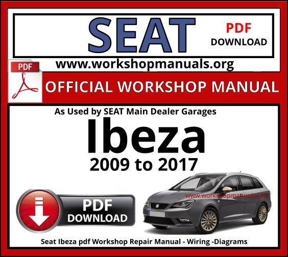 Seat Ibiza Workshop Manual Pdf