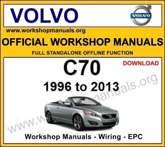 Volvo c70 workshop service repair manual download