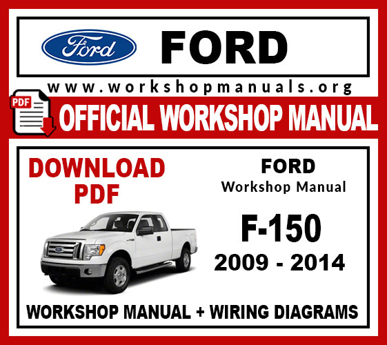 Ford F150 workshop service repair manual download