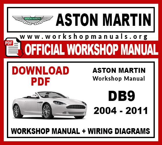 Aston Martin DB9 2004-2011 workshop service repair manual