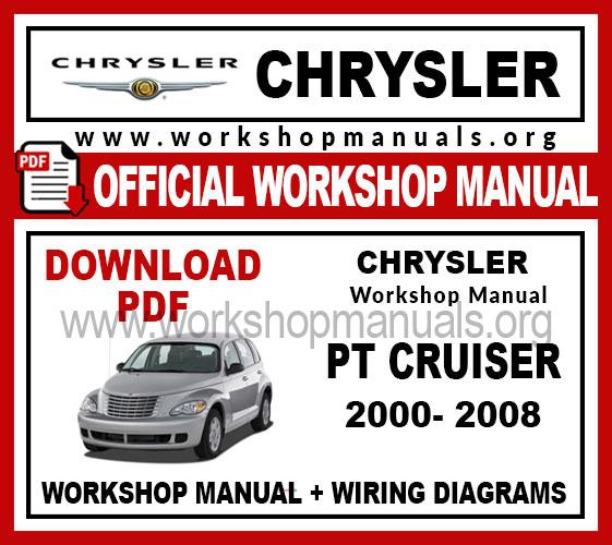 Chrysler Pt Cruiser Workshop Repair Manual