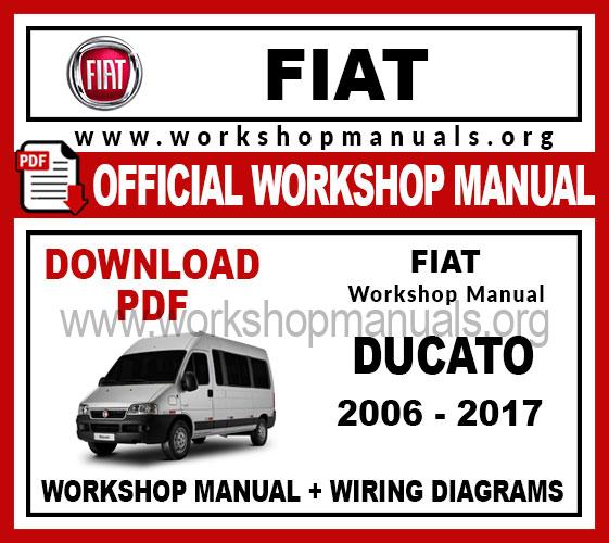 Fiat Ducato Pdf Workshop Repair Manual