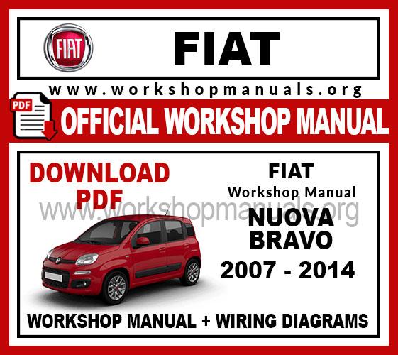 Fiat Bravo Workshop Repair Manual