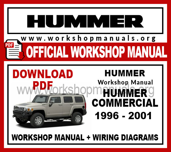 Hummer commercial workshop service repair manual