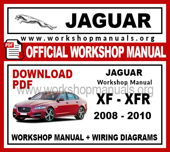 Jaguar Xf Xfr Workshop Repair Manual