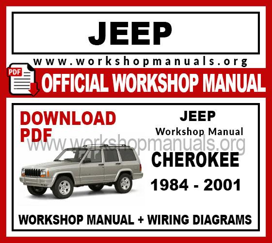 Jeep Cherokee workshop service repair manual download
