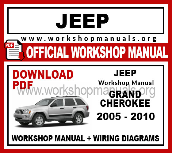 Jeep Grand Cherokee workshop service repair manual download