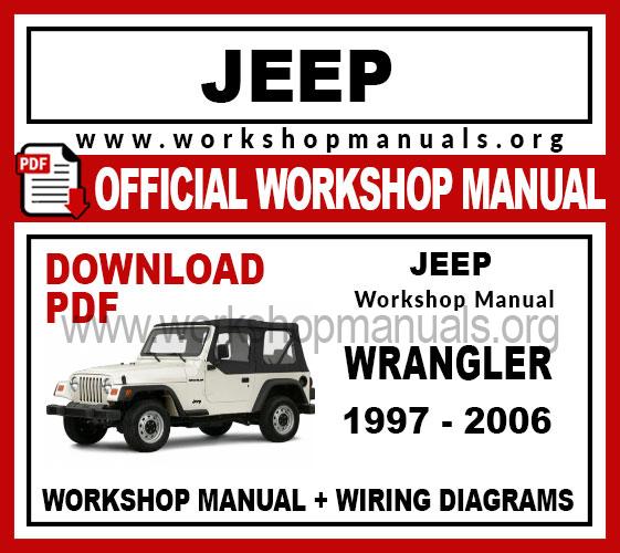 jeep repair diagrams jeep wrangler workshop repair manual workshop manuals  jeep wrangler workshop repair manual