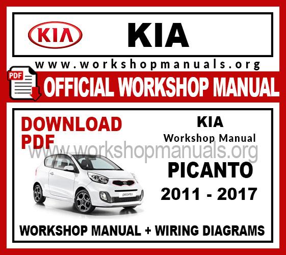 Kia Picanto 2018 Work Repair, Kia Picanto Wiring Diagram Pdf