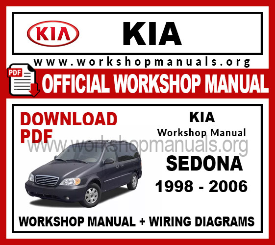 Kia Sedona Wiring Diagram Pdf Free from workshopmanuals.org