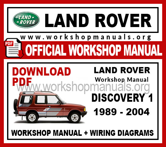 wiring diagram land rover discovery 1 land rover discovery 1 workshop repair manual workshop manuals land rover discovery 1 trailer wiring diagram land rover discovery 1 workshop repair