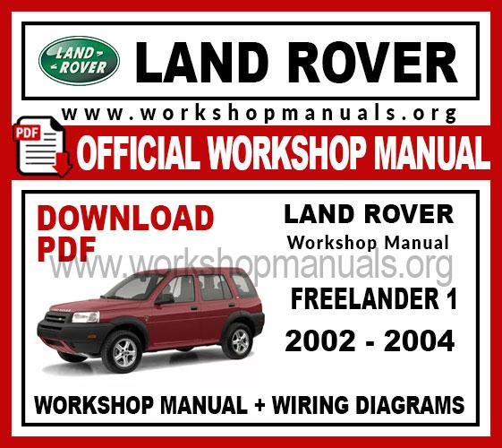 Land Rover Freelander 1 Work Repair, Freelander Wiring Diagram Pdf