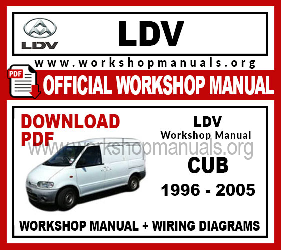 Ldv Cub Workshop Repair Manual
