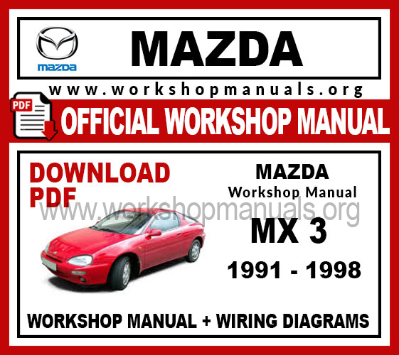 mazda wiring diagram pdf mazda mx 3 workshop repair manual workshop manuals mazda 626 wiring diagram pdf mazda mx 3 workshop repair manual