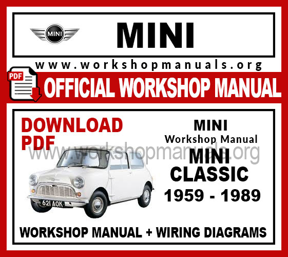 Mini Classic Workshop Repair Manual