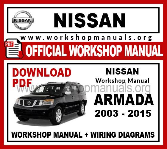 Nissan Armada Workshop Repair Manual Workshop Manuals