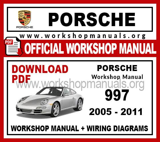 Porsche 997 Carrera Work Repair, Porsche Wiring Diagrams 997