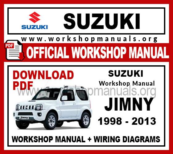 Suzuki Jimny Workshop Repair Manual