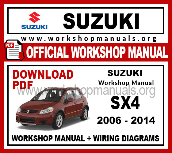 Suzuki Sx4 Workshop Repair Manual