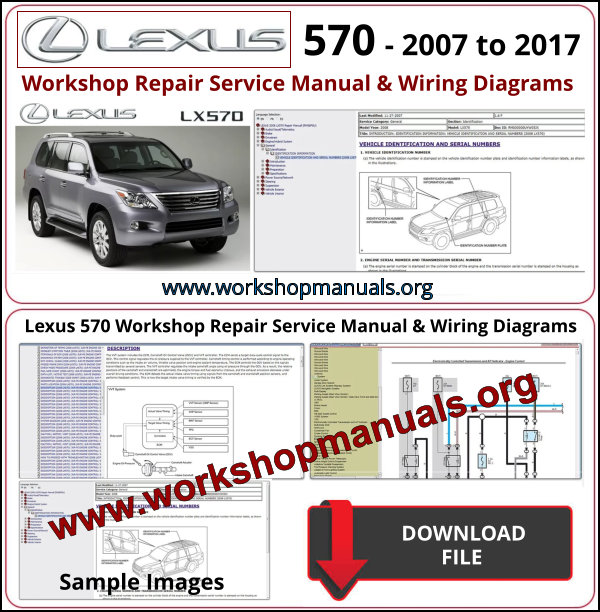 Lexus Lx 570 Workshop Repair Manual