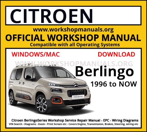 Citroen Berlingo Work Manual, Berlingo Wiring Diagram