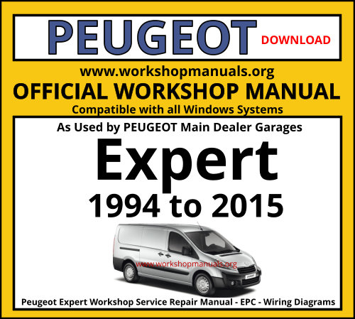 Peugeot Expert Workshop Service Repair Manual